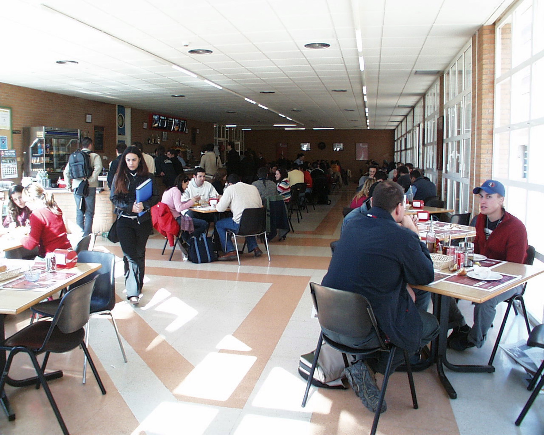 Image of the Humanities Building cafeteria